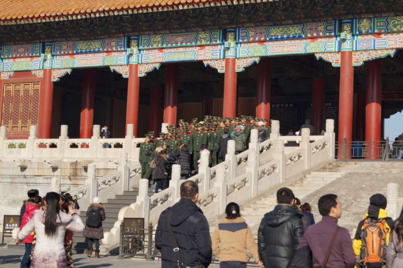 Soldiers in Forbidden City