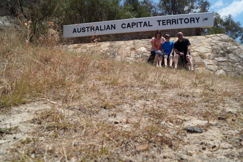 Entering the Australian National Territory