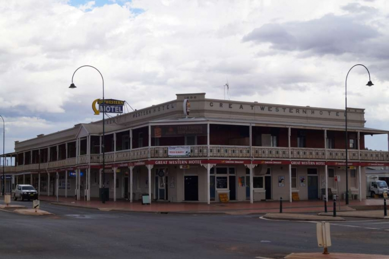 Around Cobar