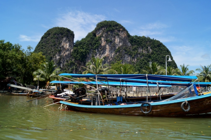 Long Boat Tour to James Bond Island