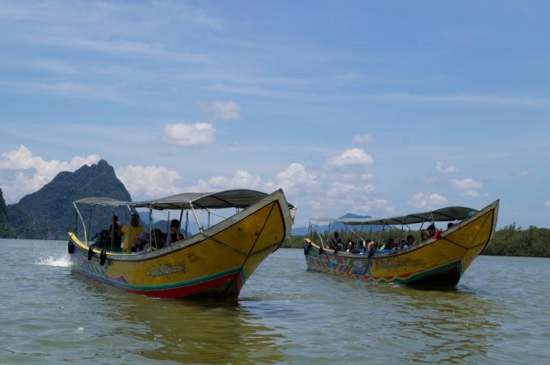 Long Boat Tour to James Bond Island
