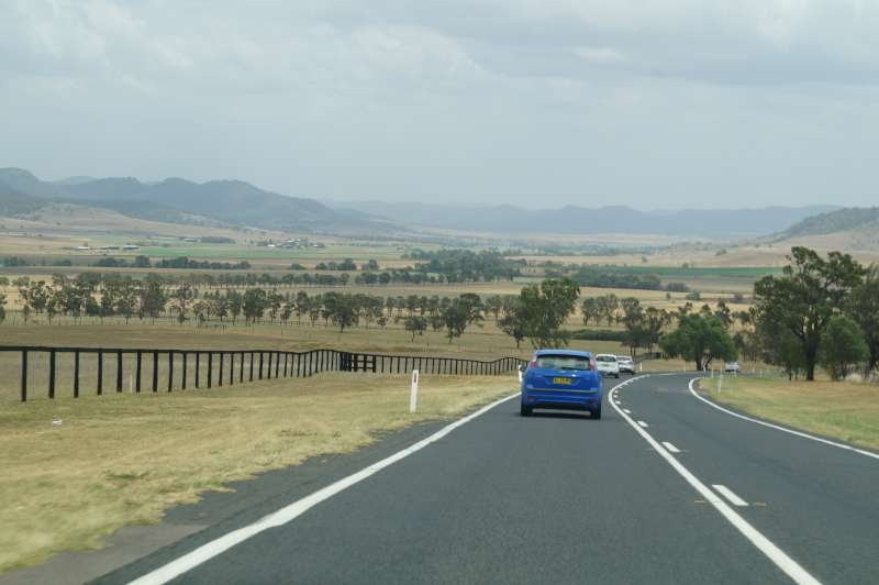 Drive to Coonabarabran
