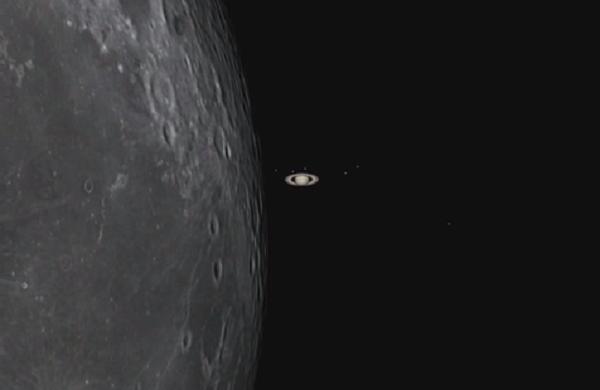 Occultation of Saturn